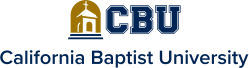 California Baptist University's school logo