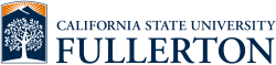 California State University-Fullerton's school logo