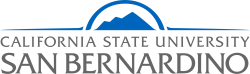 California State University-San Bernardino's school logo