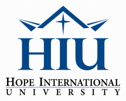 Hope International University's school logo