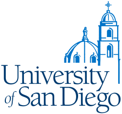 University of San Diego's school logo